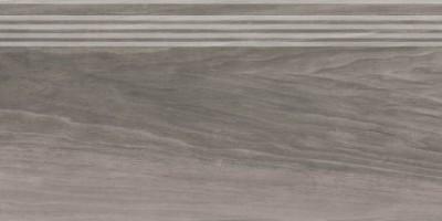 Фронтальная ступень Слим Вуд SG226400R/GR серый обрезной 30x60 Kerama Marazzi