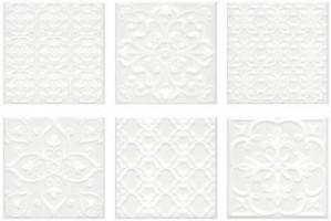 Настенная плитка 5226 Суррей белый 7.9 мм 20x20 Kerama Marazzi