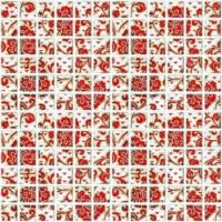 Декор мозаичный DT20 Мотив красный 29.8x29.8 Kerama Marazzi