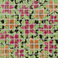 Декор мозаичный DT26 Танец цветов 29.8x29.8 Kerama Marazzi