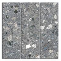 Декор Терраццо SG184/004 серый темный мозаичный 14.7x14.7 Kerama Marazzi