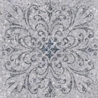Керамогранит Терраццо SG632700R серый декорированный обрезной 60x60 Kerama Marazzi