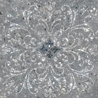 Керамогранит Терраццо SG632900R серый тёмный декорированный обрезной 60x60 Kerama Marazzi