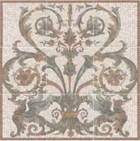 Панно Виченца HGD/A99/9x/17000 9 частей (15х15) 45x45 Kerama Marazzi