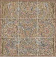Панно Виченца HGD/B99/9x/17000 9 частей (15х15) 45x45 Kerama Marazzi