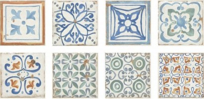 Вставка Виченца Майолика HGD/A181/5246 4.9x4.9 Kerama Marazzi