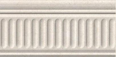 Бордюр 19021/3F Золотой пляж светлый беж структурир. 20x9.9 Kerama Marazzi