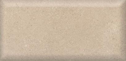 Настенная плитка 19020 Золотой пляж тёмный беж грань 20x9.9 Kerama Marazzi