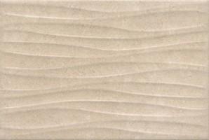 Настенная плитка 8274 Золотой пляж темный беж структура 20x30 Kerama Marazzi