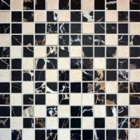 Мозаика Kerlife Dec. Malla Portoro-R Marfil 30x30