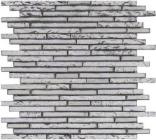 Мозаика L100153526 Harmony Strip Silver 29.4x30x0.8 L'Antic Colonial