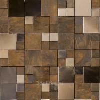 Мозаика L241716121 Metal Bronze Mini 3d Cubes 30.5x30.5 L'Antic Colonial