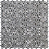 Мозаика L241712641 Gravity Aluminium Hexagon Metal 31x31 L'Antic Colonial