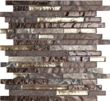 Мозаика L244000961 Treasures Bronz. Emper. Strip 29.2x30.4 L'Antic Colonial