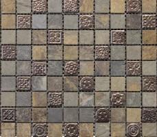 Мозаика L108010901 Nepal Decor 2.3x2.3cm 29.8x29.8 L'Antic Colonial
