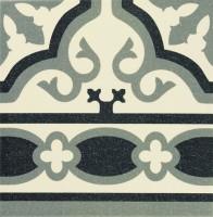 Напольная плитка PT01978 Florentine Cenefa White 20x20 Mainzu