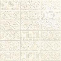 Декор PT02892 Velvet Deco Bianco 10x20 Mainzu
