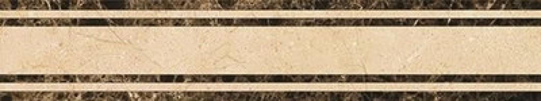 Бордюр PJD-SDPH043 43 Crema Marfil Waterjet Border Majesty Border 80x15 Marmocer