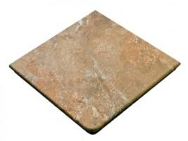 Угловая ступень Ang.Sea Rock Toffee florentino 33x33 Mayor Ceramica