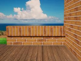 Керамогранит Bricks (Monopole Ceramica)