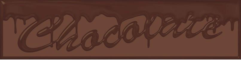 Декор Decor Chocolate Chocolatier 10x40 Monopole Ceramica