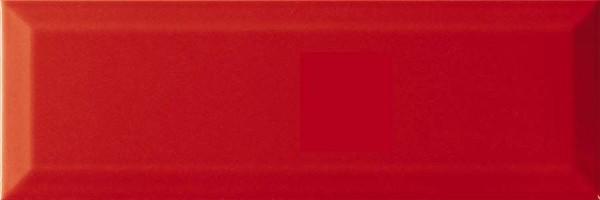 Настенная плитка Fresh Brillo Bisel Rojo 10x30 Monopole Ceramica