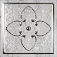 Декор Dec Armonia Petra Brillo Bisel Silver A 15x15 Monopole Ceramica
