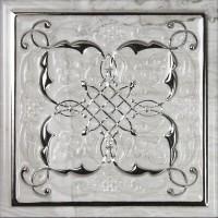 Декор Dec Armonia Petra Brillo Bisel Silver B 15x15 Monopole Ceramica