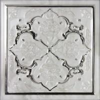 Декор Dec Armonia Petra Brillo Bisel Silver C 15x15 Monopole Ceramica