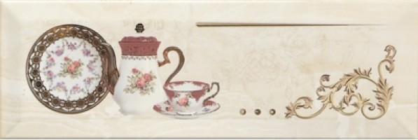 Декор Decor Petra Pranzo Gold B 10x30 Monopole Ceramica