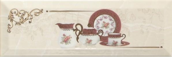 Декор Decor Petra Pranzo Gold C 10x30 Monopole Ceramica