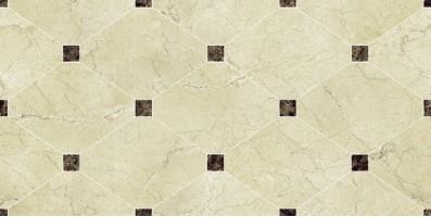 Плитка Navarti Crema Marfil Crown Marfil 25x50 настенная