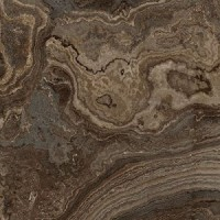 Керамогранит 117462 Rhapsody Brown Wave Lev Ret 60x60 Naxos