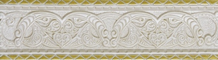 Бордюр Listello Orna Ivory 8x30 Newker