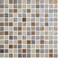 Мозаика ONIX Mosaico Rev. Mystic Glass Amber Malla 31.1x31.1