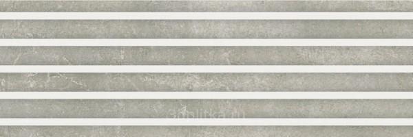 Настенная плитка 9523 SHADOW REL STONE RECT 30x90 Porcelanite Dos