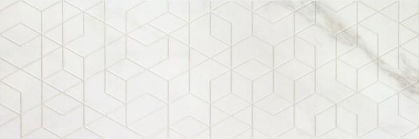 Декор Porcelanite Dos 1212 Blanco Decor Diamond Rectificado 40x120