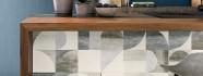 Плитка Porcelanite Dos Trent 9532 Sapphire Ret 30x90 настенная