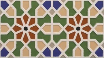 Настенный керамогранит ANDALUSI MEDINA VERDE 30.85x55.6 Realonda Ceramica