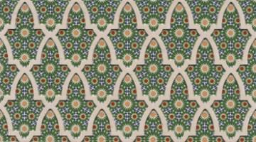 Настенный керамогранит ANDALUSI RIAD 30.85x55.6 Realonda Ceramica