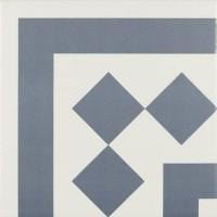 Декор Antigua Azul 001 20x20 (Ribesalbes Ceramica)