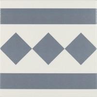 Декор Antigua Azul 002 20x20 (Ribesalbes Ceramica)