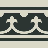 Декор Pasion Blanco Cenefa 20x20 (Ribesalbes Ceramica)