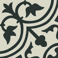 Декор Pasion Negro 20x20 (Ribesalbes Ceramica)