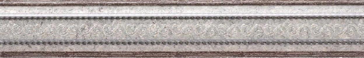 Бордюр Mold Damasco Grey 4x25 Rocersa