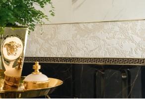 Керамическая плитка Гладкий бордюр (Росдекор)