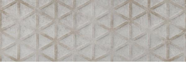 Плитка настенная Industrial Roxy Acero 25x75 Saloni Ceramica