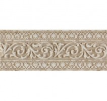 Настенный бордюр Tivoli List. Blason Crema 12x31 Saloni Ceramica