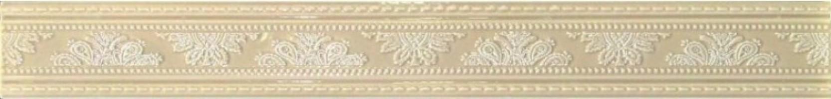 Бордюр CSAQUABE01 Pensiero Quadro Beige 6x50.2 Sant Agostino