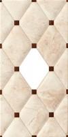 Декор STN Ceramica Caledonia Ventana Crema 25x50